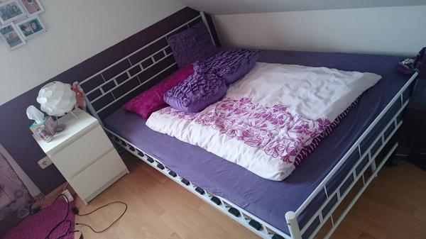 Weißes Bett 160X200 war beste ideen für ihr wohnideen