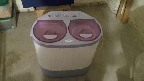 mini waschmaschine mit schleuder in hamburg waschmaschinen kaufen und verkaufen ber private. Black Bedroom Furniture Sets. Home Design Ideas