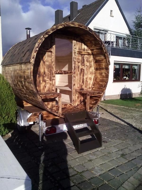 mobile sauna fa sauna holzofen camping garten ferienhaus urlaub in euskirchen campingartikel. Black Bedroom Furniture Sets. Home Design Ideas