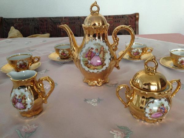 moccaservice bavaria gold in fellbach geschirr und. Black Bedroom Furniture Sets. Home Design Ideas