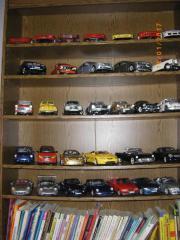 Modellauto-Sammlung in