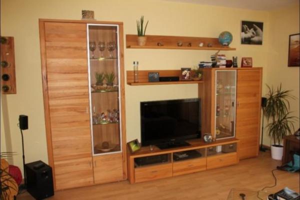 Moderne wohnwand kernbuche wohnzimmerschränke anbauwände