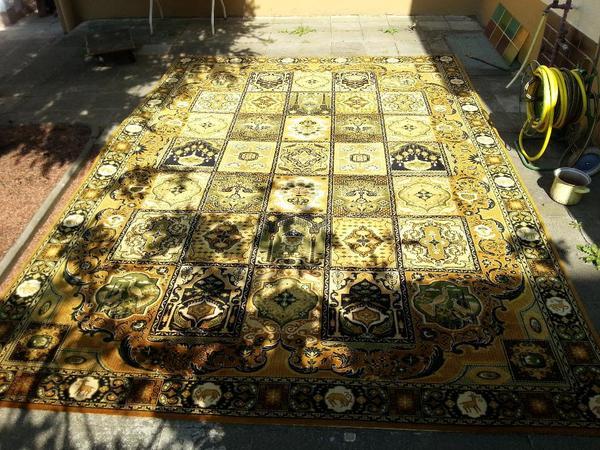 Mossoul Teppich mit Originaletikett, guter Zustand in