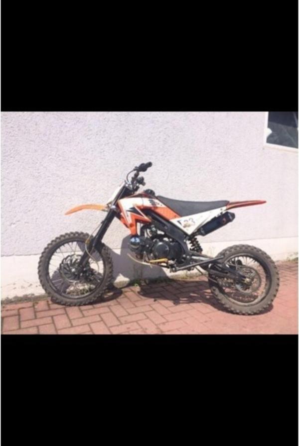 motocross pit dirt bike 125 ccm 17 14 in bensheim. Black Bedroom Furniture Sets. Home Design Ideas