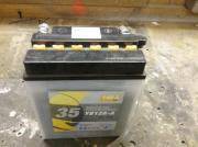 Motorrad Batterie