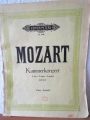 Mozart: Kammerkonzert für