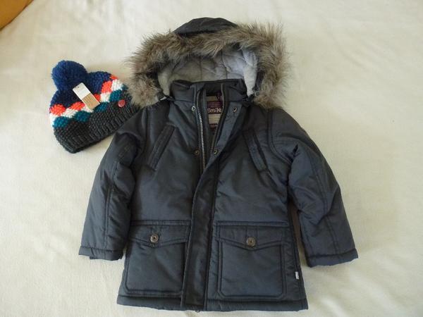 neue tolle jungen winterjacke gr e 98 104 110 und winterm tze barts in bregenz. Black Bedroom Furniture Sets. Home Design Ideas