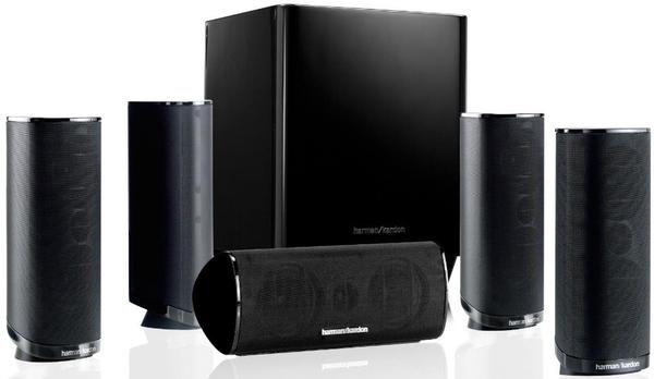 neuwertig harman kardon hkts 11 lautsprecher system. Black Bedroom Furniture Sets. Home Design Ideas