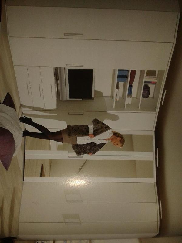 nolte eckkleiderschrank horizont 8000 polarwei neu in. Black Bedroom Furniture Sets. Home Design Ideas