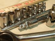 Nuss- Steckschlüssel- Set,