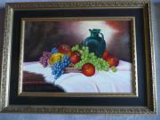 Ölgemälde, Bild , Obst
