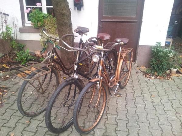 oldtimer fahrrad stukenbrok pallas wanderer in. Black Bedroom Furniture Sets. Home Design Ideas