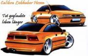 Opel Calibra Fahrer