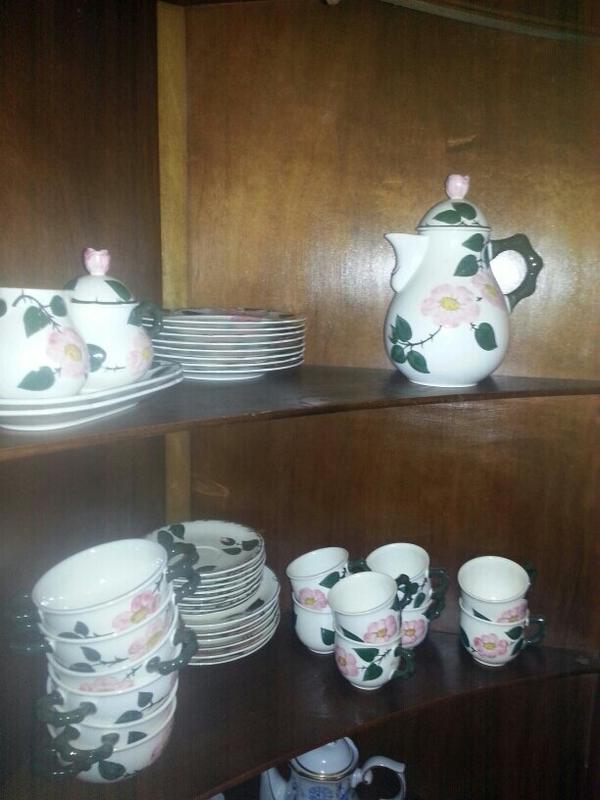 original rosenthal wildrose geschirr in dortmund geschirr und besteck kaufen und verkaufen. Black Bedroom Furniture Sets. Home Design Ideas