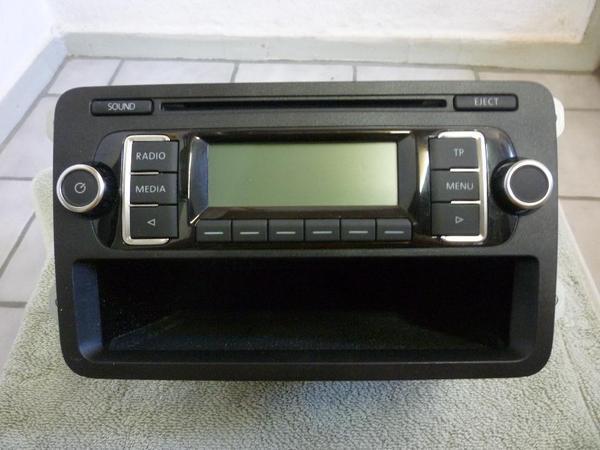 Original vw radio rcd 210 mit cd mp3