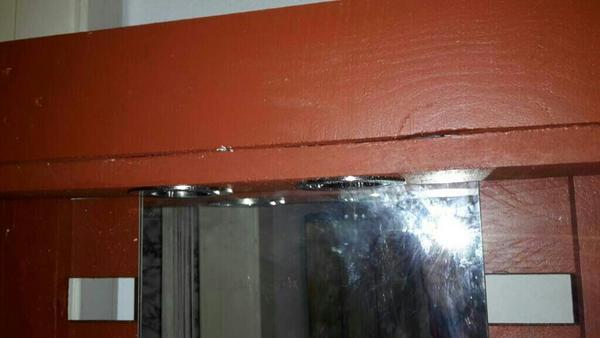 Paletten spiegel regal in wilhelmshaven bad einrichtung - Spiegel regal bad ...