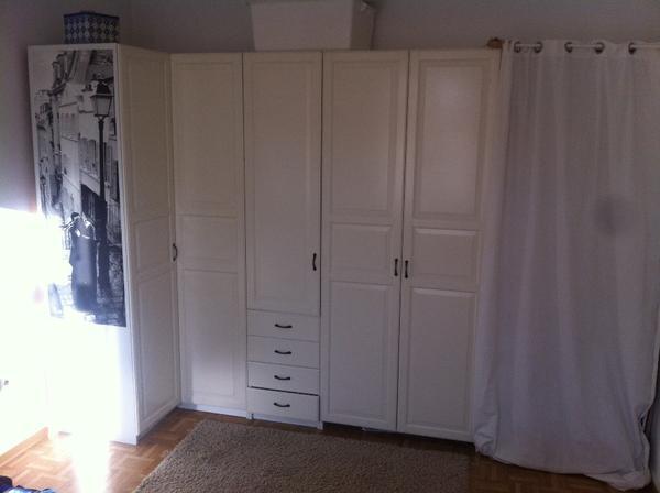 pax eckkleiderschrank in karlsruhe schr nke sonstige schlafzimmerm bel kaufen und verkaufen. Black Bedroom Furniture Sets. Home Design Ideas