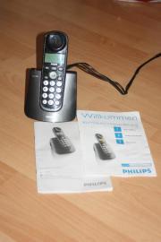 Philips Schnurlostelefon, Großtastentelefon,