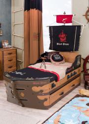 Piratenbett, Schiffbett 90x195
