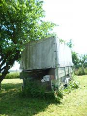 Planenanhänger Traktor Unimog