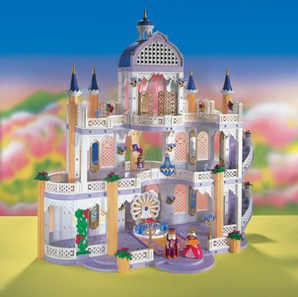 Chateaux playmobil princesse for Palais princesse playmobil