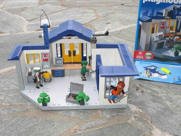 playmobil polizeistation 3159 in heusenstamm spielzeug lego playmobil kaufen und verkaufen. Black Bedroom Furniture Sets. Home Design Ideas