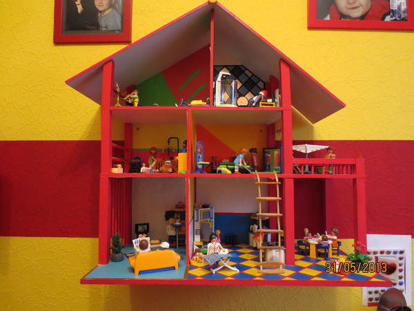 playmobilhaus in viernheim spielzeug lego playmobil kaufen und verkaufen ber private. Black Bedroom Furniture Sets. Home Design Ideas