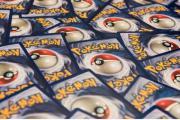 Pokemonkarten. ca. 1200