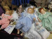 Porzellan Puppen und