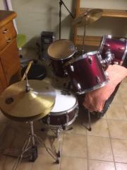 Professionelles Schlagzeug