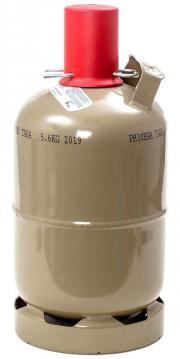 Propangas / Gasflasche grau