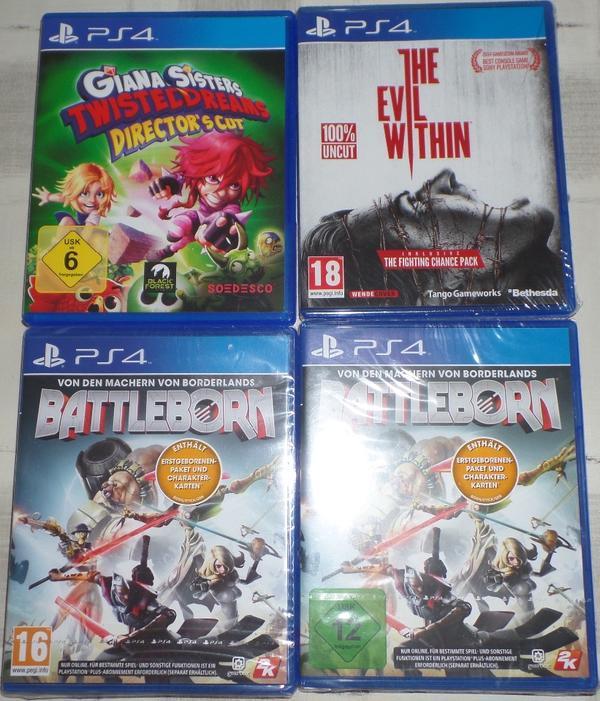 PS4 Spiele » Playstation, Gerät & Spiele