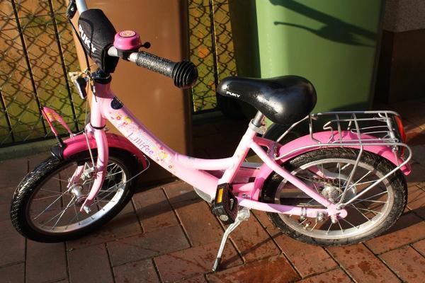 puky lillifee fahrrad 16 zoll mit st tzr dern wimpelstange. Black Bedroom Furniture Sets. Home Design Ideas