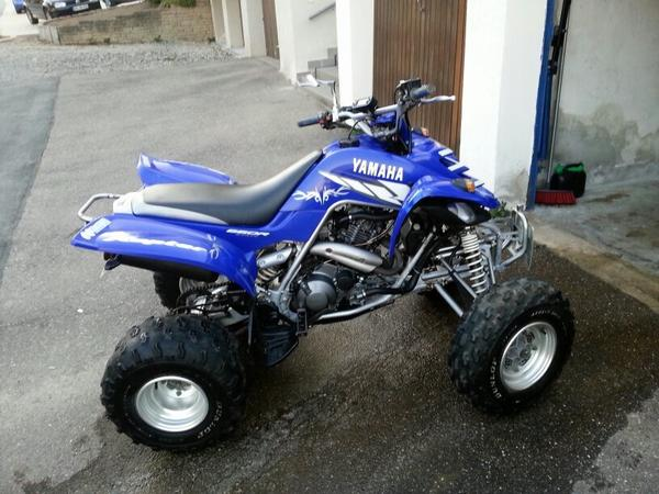 quad yamaha raptor 660 in baltmannsweiler quads atv