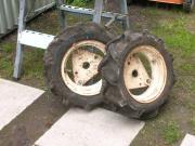 Räder incl. Gewichte,