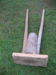 Rammbock aus Holz,