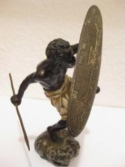 Rare alte Bronzefigur