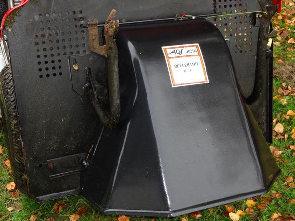 bild 4 rasentraktor ags typ ag 122 20h bj 2005 mit schneer umschild deflektor zum mulchen und. Black Bedroom Furniture Sets. Home Design Ideas