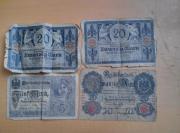 Reichsbanknoten und Darlehnskassenschein