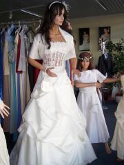 Romantisches Vintage Brautkleid