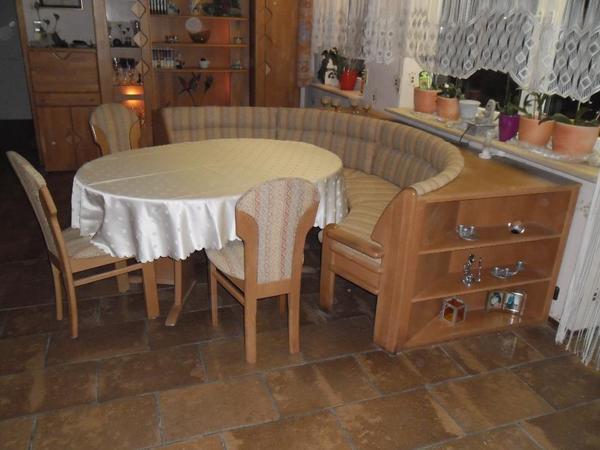 runde eckbank in riedstadt speisezimmer essecken kaufen und verkaufen ber private kleinanzeigen. Black Bedroom Furniture Sets. Home Design Ideas