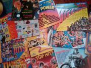Schallplatten der 70er
