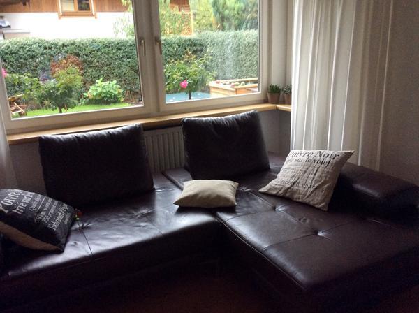 schillig ledersofa in wolfurt polster sessel couch kaufen und verkaufen ber private. Black Bedroom Furniture Sets. Home Design Ideas