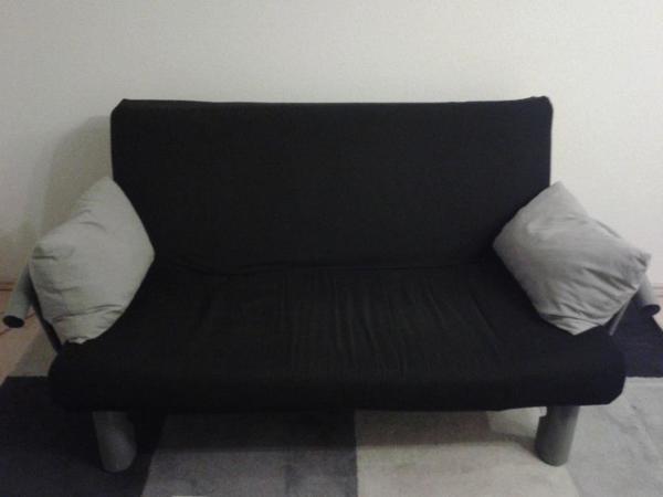 schlafcouch zum ausklappen in ludwigsburg polster. Black Bedroom Furniture Sets. Home Design Ideas