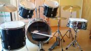 Schlagzeug Black Beat