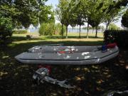 Schlauchboot m. Holzboden