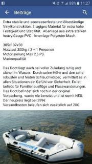 Schlauchboot Navigator 2