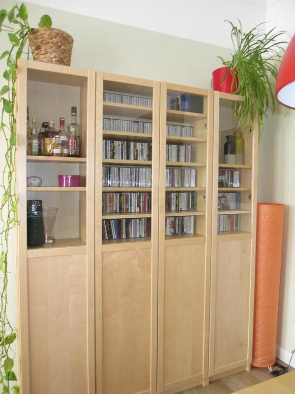 folgendes ist in diesem angebot enthalten 1 schmales regal ma e 40x28x202 cm mit 7. Black Bedroom Furniture Sets. Home Design Ideas