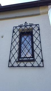 Schmiedeeisenverschlag für Fenster