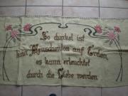 Schöner Antik Wandbehang